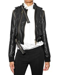 Givenchy | Black Multi Zip Leather Jacket | Lyst