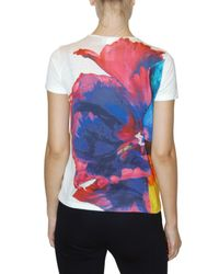 Jil Sander | Multicolor Floral-print Cotton T-shirt | Lyst