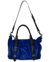 Mulberry | Blue Mila Clipper Bag | Lyst