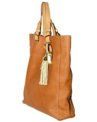 Mulberry - Brown Oversized Bayswater Grainy Calf Tote - Lyst