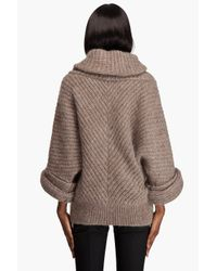 Viktor & Rolf | Natural Chunky Mohair Knit Sweater | Lyst