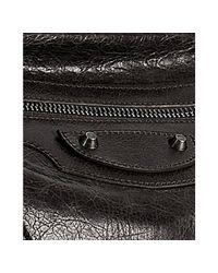 Balenciaga | Dark Brown Lambskin Classic Day Crossbody Bag | Lyst