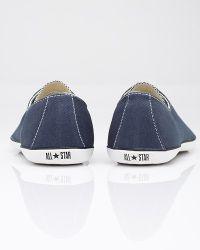 Converse | Blue All Star Light Ox in Navy | Lyst