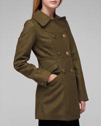 Tulle - Green Sailor Button Coat - Lyst