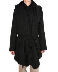 Ann Demeulemeester | Black Frock Coat for Men | Lyst