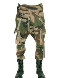 Balmain | Natural Camouflage Cargo Light Ca Trousers for Men | Lyst