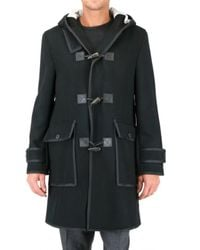 Black Fleece By Brooks Brothers | Black Toggle Coat for Men | Lyst