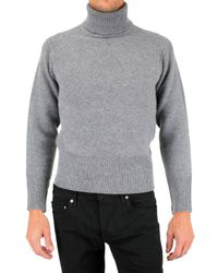 Black Fleece By Brooks Brothers | Gray Turtleneck Sweater for Men | Lyst