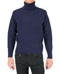 Black Fleece By Brooks Brothers | Blue Turtleneck Sweater for Men | Lyst