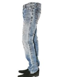 Dolce & Gabbana - Blue Audacious Destroyed Jeans for Men - Lyst