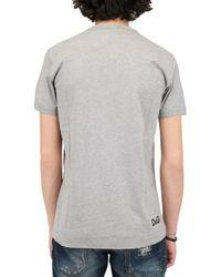 Dolce & Gabbana - Gray Kim Basinger Jersey T-shirt for Men - Lyst