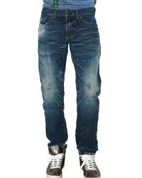 DIESEL | Blue Medek Japanese Denim Jeans for Men | Lyst