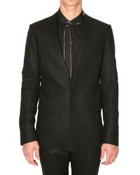 Dior Homme | Black Cashmere Toile Flannel Suit for Men | Lyst