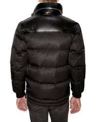 Dior Homme - Black Zipped Calf Collar Nylon Sport Jacket for Men - Lyst