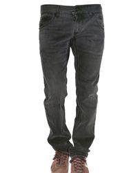 Dolce & Gabbana | Black 19cm Gold Washed Denim Jeans for Men | Lyst