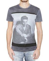 Dolce & Gabbana | Blue James Dean Silk Jersey T-shirt for Men | Lyst