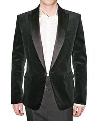 DSquared² | Black Satin Revere Velvet Jacket for Men | Lyst