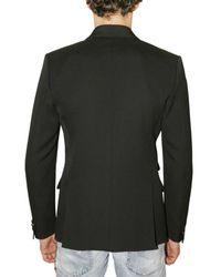 DSquared² | Black One-button Tuxedo Blazer for Men | Lyst