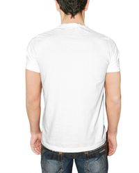 DSquared² | White Blood Jersey T-shirt for Men | Lyst