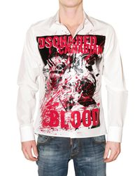 DSquared² | Black Long Sleeve Shirt for Men | Lyst