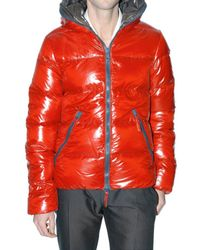 Duvetica | Red Shiny Nylon Dionisio Sport Jacket for Men | Lyst