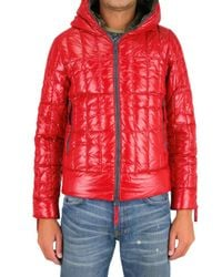 Duvetica - Red Trasio Shiny Nylon Sport Jacket for Men - Lyst