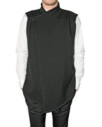 Givenchy | Black Knitted Wool Vest for Men | Lyst