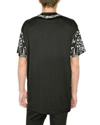 Givenchy   Black Printed Jersey Oversized T-shirt for Men   Lyst