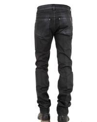 Notify - Black Slim Waxed Denim Jeans for Men - Lyst
