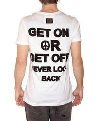 Philipp Plein - White Usa Svarowski Skull Jersey T-shirt for Men - Lyst