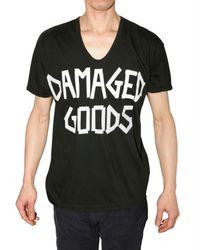 Pleasure Principle | Black Damaged Goods T-shirt for Men | Lyst