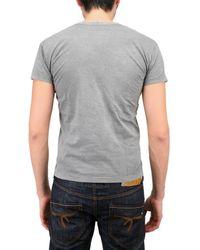 Pleasure Principle - Gray Biker Sex Print Jersey T-shirt for Men - Lyst