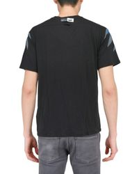 Alexander McQueen X Puma - Black Graphic Wing Jersey T-shirt for Men - Lyst