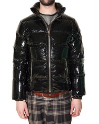 Pyrenex | Black Vinyl Duck Down Sport Jacket for Men | Lyst