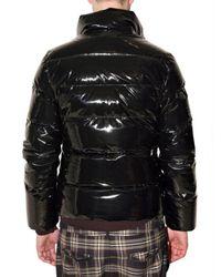 Pyrenex - Black Vinyl Duck Down Sport Jacket for Men - Lyst