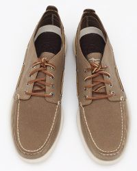 Sperry Top-Sider - Brown Oilcloth Chukka for Men - Lyst