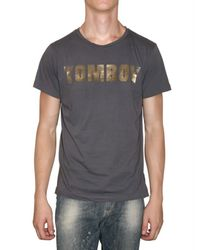 Tom Rebl | Gray Tomboy Jersey T-shirt for Men | Lyst