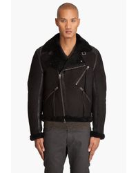 Acne Studios | Black Super Coat for Men | Lyst