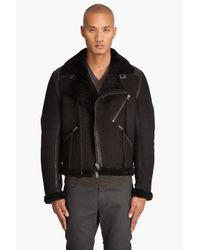 Acne Studios - Black Super Coat for Men - Lyst