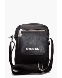 DIESEL | Black Fellow Bag for Men | Lyst