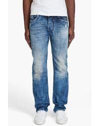 DIESEL | Blue Timmen 8e7 Jeans for Men | Lyst