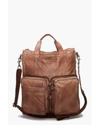 DIESEL | Brown New Outer Shoulder Bag for Men | Lyst