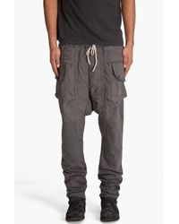 DRKSHDW by Rick Owens | Gray Combo Pants for Men | Lyst