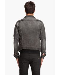 DRKSHDW by Rick Owens | Gray Mini Corduroy Jacket for Men | Lyst