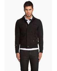 G-Star RAW | Black Artner Bomber Jacket for Men | Lyst