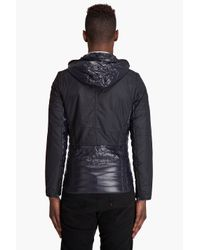 G-Star RAW - Blue Mitch Hooded Overshirt for Men - Lyst