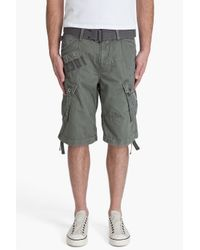 G-Star RAW | Green Pt Rovic Belt 1/2 Shorts for Men | Lyst