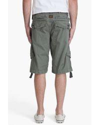 G-Star RAW | Green Pt Rovic Belt 1/2 Shorts for Men | Lyst
