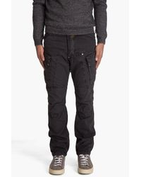 G-Star RAW | Black Scorpion Tapered Cargo Pants for Men | Lyst