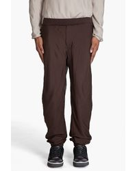 Lanvin | Brown Drawstring Pants for Men | Lyst